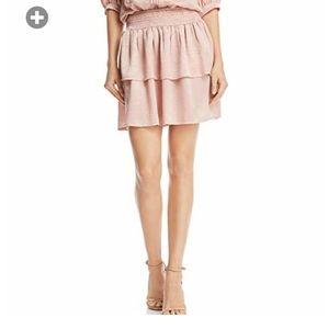 Beltane skirt. Size Medium. Light pink